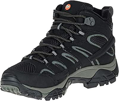 Merrell Women Moab 2 Mid GTX High Rise Hiking Shoes
