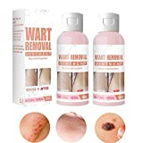 2Pcs Herbal Wart Skin Removal Ointment, Fast-Acting Wart Remover, genital wart Remover for All Skin Types, Safe Effective Without Leaving Scars (2Pcs)