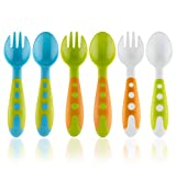 Product Image of the TODDLER UTENSILS BABY SPOONS & BABY FORKS SET WITH BABY UTENSILS CASE | Toddler...