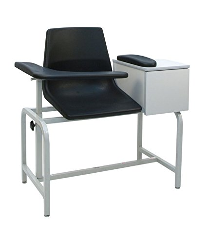 Winco 2570 Phlebotomy Blood Drawing Clinical Chair With Drawer