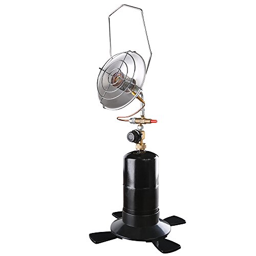 Stansport Portable Outdoor Propane Infrared Radiant Heater, Black, One Size