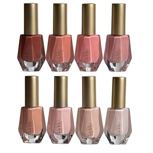 Nicole Miller Nail Polish Collection 8 Piece Nail Polish Set in Nude Colors
