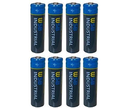 8X Spar-Pack SOLAR Mignon AA Akkus wiederaufladbare Batterien 3,2V 1,92Wh LiFePo4 Hochleistungs- Akku Batterie bestens geeignet für Solarlampen Solar Lichterkette Solarleuchte Leuchten
