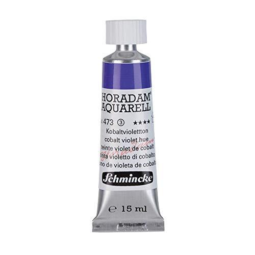 Schmincke Horadam Artists Watercolours - Cobalt Violet Hue - 15ml Tube - (Series 3) (473)