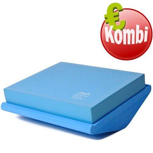 SoftX Koordinationswippe blau 50*45*9 cm Balance Training Sensomotorisch