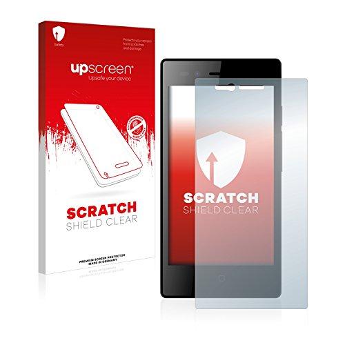 upscreen Schutzfolie kompatibel mit Siswoo A5 Chocolate – Kristallklar, Kratzschutz, Anti-Fingerprint