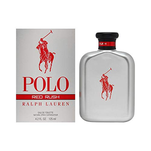 Ralph Lauren Polo Red Rush By Ralph Lauren for Men 4.2 Oz Eau De Toilette Spray, 4.2 Ounce