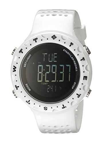 Columbia Herren Digital Quarz Uhr mit Silikon Armband CT004-100