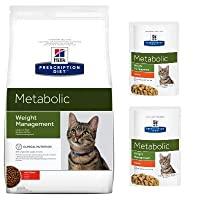 Clinically proven to safely and naturally improve metabolism in cats High fibre levels help manage blood glucose fluctuations in diabetic cats Developed by vets and nutritionists: helps to burn excess fat