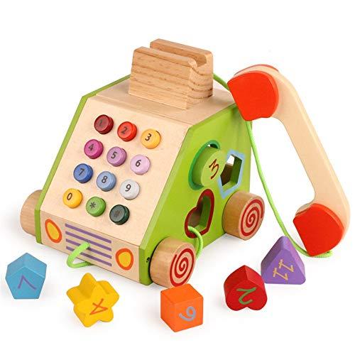 Liuxiaomiao-Toy Blocs Jouets Enfants 3-12 Ans Simulation Téléphone Jouets Blocs Jouets for Enfants pour la Famille de la Maternelle (Color : Multi-Colored, Size : One Size)