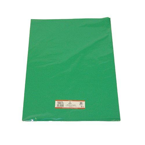 Blumen-Seide 50X70 mittel-Grün 90050-106511 Liefermenge = 26