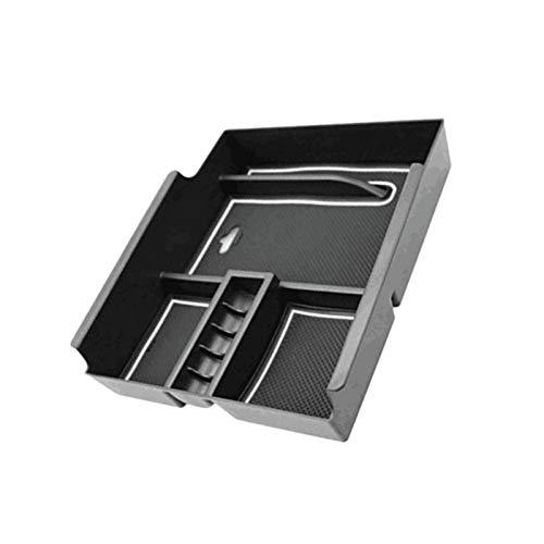 STORY Caja de almacenamiento para pasamanos centrales de coche, consola y apoyabrazos, guantera, para Toyota Alfa 2015 – 2018 accesorios (color: negro)