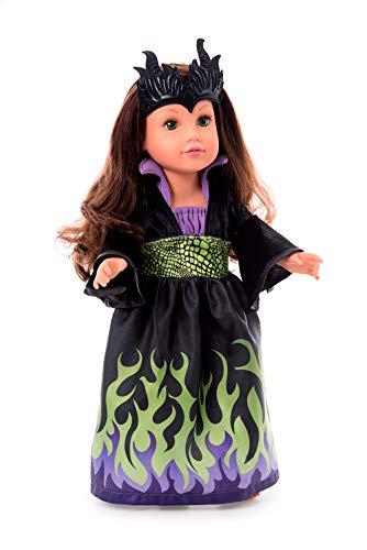 Little Adventures Dragon Queen Doll Dress