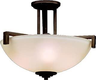 Kichler 3797OZ Eileen Pendant/Semi-Flush 3-Light, Olde Bronze