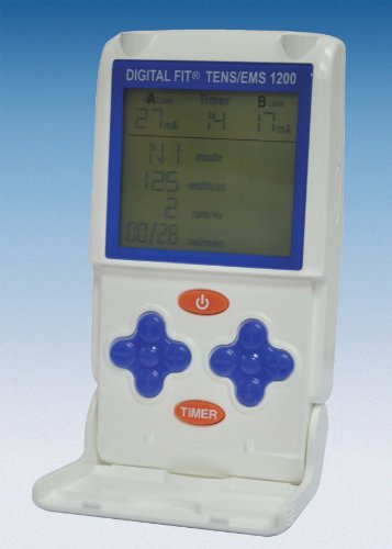 Davita 30052 - Electroestimulador Digital Fit Tens/EMS 1200