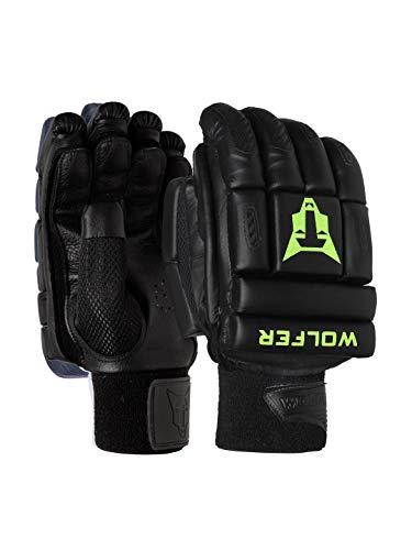 WOLFER Featherweight Cricket Batting Gloves - Black (Left)