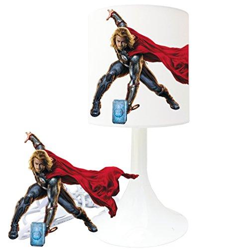 Lampe de chevet de création - Lampe à poser enfant - Avengers (7) - Thor
