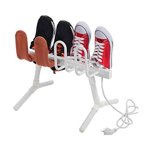 Elektrische Schuhtrockner Freistehende Stiefel Luftentfeuchter Kleiderbügel Wärmer Trockner Schuhe Wäscheständer (8-Schuh) 60W