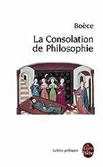 La Consolation de Philosophie de Boèce