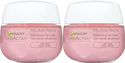 Garnier Skinactive Moisture Rescue Face Moisturizer for Dry Skin, 2 Count