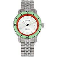 Heritor Edgard Automatic Silver Dial Men's Watch (HR9101)
