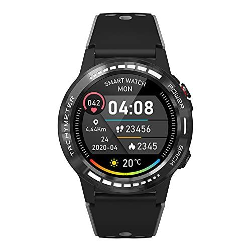 Pro Smart Watch, pantalla táctil, reloj deportivo con GPS, modos deportivos 5 ATM impermeable, reloj de fitness con ritmo cardíaco, monitor de estrés del sueño