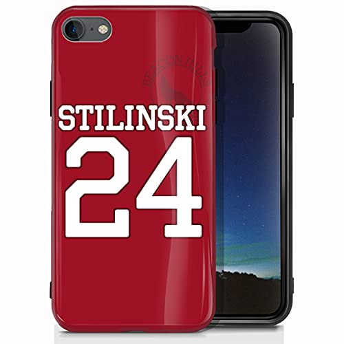 vgfshcw Cover iPhone 7/Cover iPhone 8 Glossy Bright Soft Slim Shockproof TPU Case BEA-con Hills Lacr-OSSE T-e-en Wolf Stil-in-Ski Cases_120