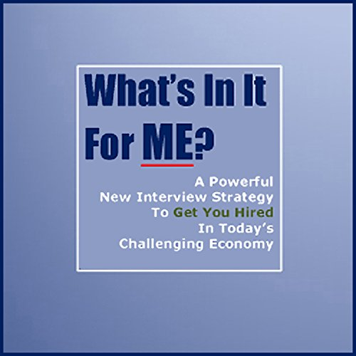 What's in It for ME? audiobook cover art