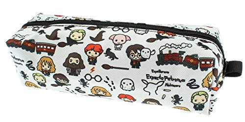 Harry Potter Chibi Character Allover Print School Pencil Case Mini Make-Up Bag