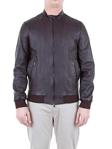 Daniele Alessandrini Luxury Fashion Mens Outerwear Jacket Spring Brown