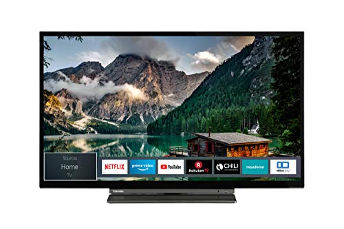 Toshiba 32LL3A63DA 32 Zoll Fernseher (Full HD, Smart TV, Triple-Tuner, Prime Video, Bluetooth, Works with Alexa)