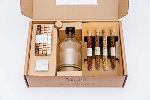 Aging & Flavor Whisky Box: veredle Deinen Whisky in nur 24 Stunden zu Deiner ganz persönlichen Kreation!