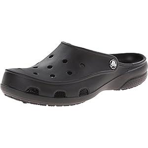 Crocs Women's Freesail Clog, Black, 7
