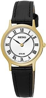 Seiko Women SUP304P Year-Round Analog Solar Powered Black Watch