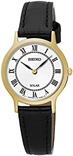 Seiko Women SUP304P Year-Round Analog Solar Powered Black Watch