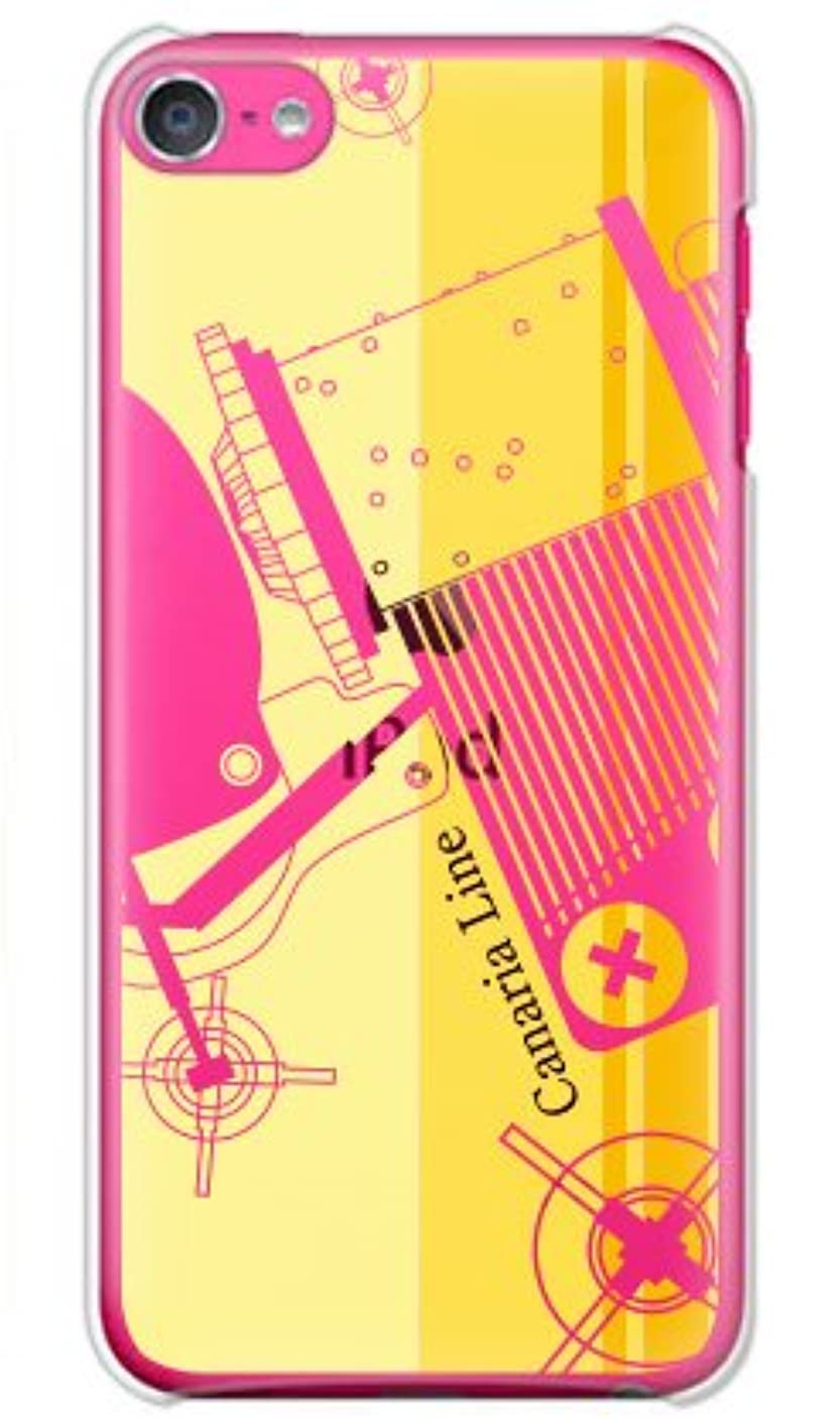 プロフィール是正スイス人ガールズネオ apple iPod touch 第6世代 ケース (Canaria Line yellow) Apple iPodtouch6-PC-OCA-0145