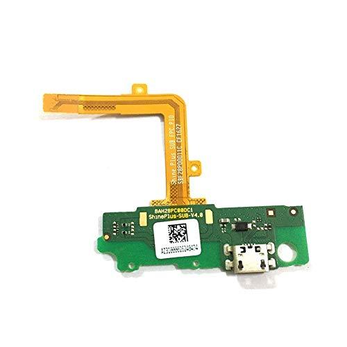 ZHOUZHONGLAN Principal puerto USB tarjeta de carga para Alcatel 5095 Pop 4S 5095B 5095I 5095K 5095L USB carga puerto Flex cable reparación piezas