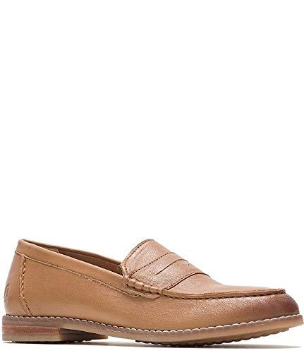 [ハッシュパピー] シューズ 24.5 cm パンプス Wren Leather Loafers Tan Leathe レディース [並行輸入品]