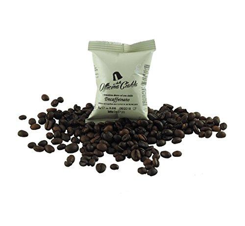 ODC MADE IN ITALY Kit que consiste en 100 CÁPSULAS DESCAFEINADO Compatible con las máquinas de café Lavazza A Modo Mio.