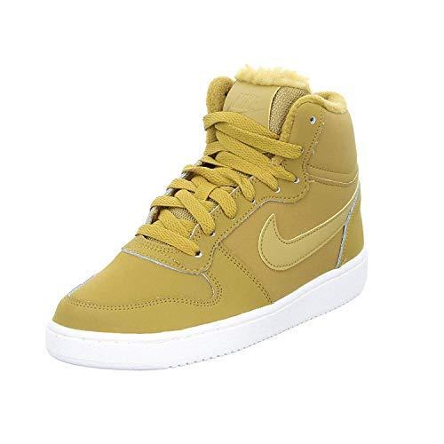 Nike Wmns Ebernon Mid Se, Zapatillas de Baloncesto Mujer, Multicolor (Wheat/Wheat-Sail 700), 37.5 EU