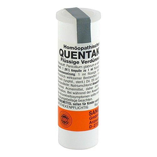 QUENTAKEHL D 5 Ampullen 1X1 ml