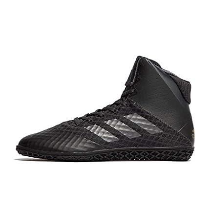 adidas Mat Wizard 4 Boots - Zapatillas de Boxeo, Color Negro, Talla 42 EU