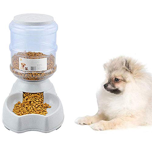 Kat Voedsel Dispensers Kat Water Dispenser Afneembare Honden Feeder Pet Food Container Hondenvoer Kom Grote Capaciteit Hond Feeder Kat Voedsel Opslag food feeder