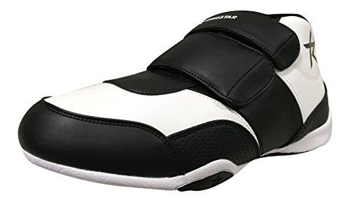 Ringstar Unisex Fight Pro V2 Martial Arts Shoes, White/Black, Mens 12