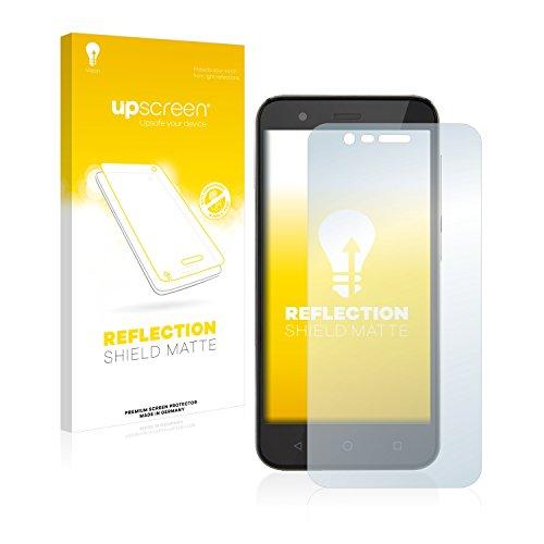 upscreen Entspiegelungs-Schutzfolie kompatibel mit Vodafone Smart Prime 7 – Anti-Reflex Bildschirmschutz-Folie Matt