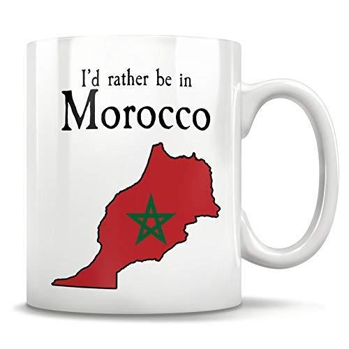 N\A Regalo de Marruecos, Taza marroquí, Mapa de Marruecos, Orgullo de Marruecos, Bandera de Marruecos, Marroquí, Taza de café árabe, Casablanca Marruecos