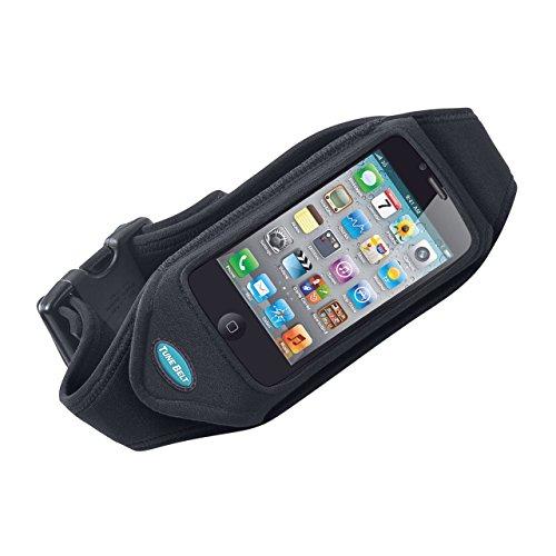 Tune Belt IP2 zwarte kussenslopen voor mobiele telefoons (universeel, zwart)