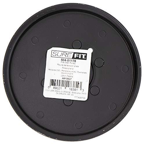 SureFit Flat Idler Pulley Replacement for John Deere AM106627 AM121602 Sabre Scotts GX255 LT160 X300
