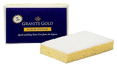 Granite Gold Non-Scratch Scrub Sponge - Gentle Granite, Marble, Quartz Stone Care Cleaning Sponge, 12 Pack