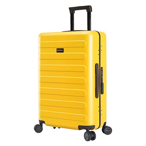 Best Deals! Lightweight Suitcase Aluminium Frame Spinner Travel Luggage Trolley Cases Luggage With T...
